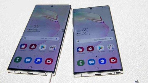 Kapasitas memori Galaxy Note10 and Note10+