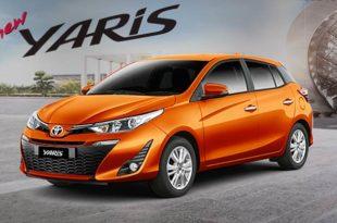 Interior Toyota New Yaris