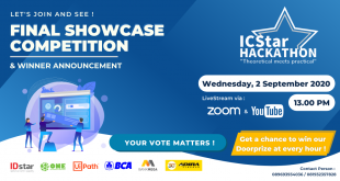 Final Showcase Competition ICStar Hackathon 2020