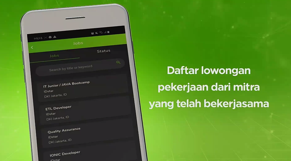 lowongan kerja one talent app
